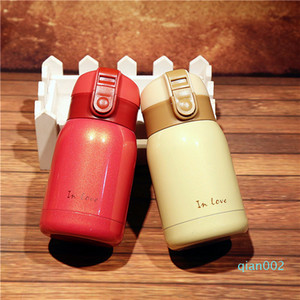 CARRYWON Thermo Mug Vacuum Cup Stainless Steel thermos Bottle Belly Cup Thermal Bottle For Water Insulated Tumbler For Car