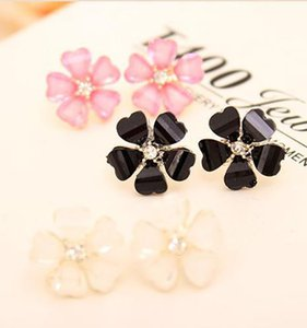 Earrings For Women 2016 Beautiful White Stud Earrings Diameter channel Stud Earrings