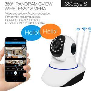 Mini Cameras IP Camera Wifi Rotatable PTZ Surveillance Home IR Night Vision Wireless Cam Voice Call Motion Detection Y6