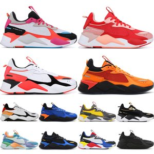 RS-X Casual shoes 2019 hot RS X Reinvention Zapatos casuales para hombres mujeres diseñador Fuchsia Purple White Blue Bright Peach Blue Atoll White zapatillas deportivas