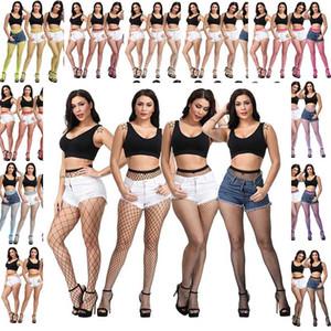 sexy Lingerie pantyhose Mesh Stockings women socks hollow out female mesh tights stocking Women's Long Fishnet socks