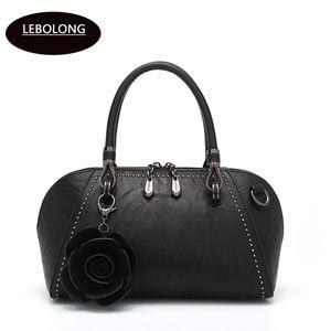 Borse 2020 Borsa da donna Nuova qualità Moda Ladies Borsa Solid Lebolong in pelle Messenger High Femmina Designer Crossbody Agnoc