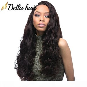 Bella Hair? Pre-Plucked Body Wave Lace Front Wig 150% 130% Density Virgin Human Hair Lace Wig with Baby Hair on Sale