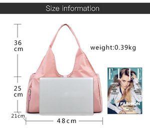 Deportes negros y bolsos de bolsos Mochila Outdoor Yoga LL Bolsas Hombro Pink Travel Koisd