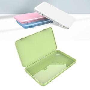 Antipolvere Maschera caso portatile maschere monouso viso Container sicuro l'inquinamento-free monouso Maschera stoage Storage Box Bins DHE1214
