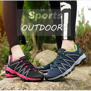 Открытый Спорт Туризм обувь для мужчин Легкого Walking Boots Mesh обуви для летней обуви Trekking