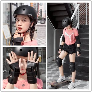 Skateboard Protective Clothing Giant Sea Turtle Protective Gear Skates Knee and Elbow Pad Adult Motorcycle Balance Car Men and Women Profess