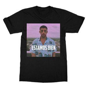 Dmaichang Estamos Bien Bad Lapin T-shirt (Hommes)