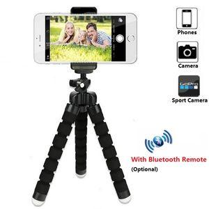 Uzaktan Kamera Tutucu Selfie'nin Çubuk Bluetooth Shutter Release İçin Telefon Tutucu Tripod Mobil Hafif İçin Mini Tripod