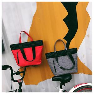 Toptan 4 Renkler Pembe Çanta Omuz Çantaları Higt Kalite Kadınlar Tasarımcı Çanta Büyük Kapasiteli Seyahat Çizgili Su Geçirmez Plaj Moda Çanta