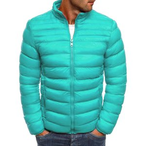 CP Mens Solid Designer Winter Jacket Long Sleeve Brief Warm Parkas with Zipper Thick Mens Casual Coats Wulong