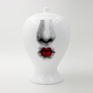 14x22CM Vase décor Pot de fleurs en céramique européenne Grand Vase d'étanchéité Décoration Accessoires de Noël Décoration d'intérieur Artisanat Jars