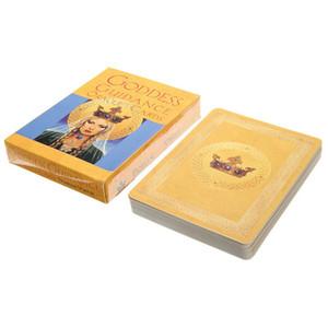 Tanrıça İngilizce Oracle Kartları Güverte Oyun Oyna Tarot Kartları Rehberlik Kehanet Kader Kurulu Oyun Kadınlar İçin Kart Oyunları Oynama