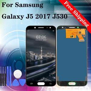 """5.2"""" Samsung Galaxy J5 2017 J530 J530F SM-J530F J530FM LCD Ekran Dokunmatik Ekran Sayısallaştırıcı Meclisi için Orijinal LCD"""