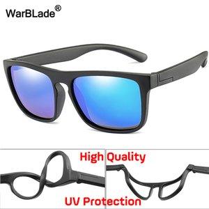 Warblade 2020 New Kids silice morbida polarizzatori Piazza delle ragazze dei ragazzi di marca degli occhiali da sole per bambini UV400 infrangibile