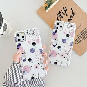 new Fashion Planet dots Silicone protective shell For iPhone 11 Pro Max 11 Pro 11 XS XR X XS Max 6s 6 7 8 Plus Anti-fall