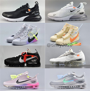 2020 off white offwhite ow Nike air max 97 men white blazer New Women Shoes In Autumn 2019 All Over Single Men Shoes AA3831-002