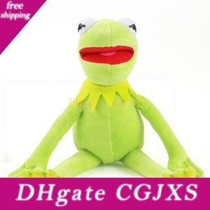 Presentes 42 centímetros Kermit Plush Toys Sesame Street Frogs Boneca Stuffed Animal Kermit Toy transporte da gota férias