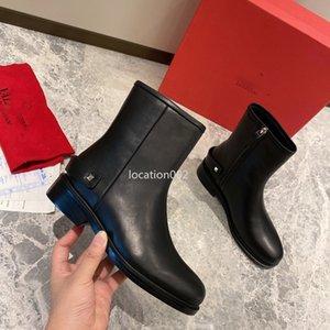 Valentino Hot vente rose dames camouflage rouge dames bottes d'hiver imperméables hommes bottes de travail en cuir bottes de pluie Hiki fgc19082202