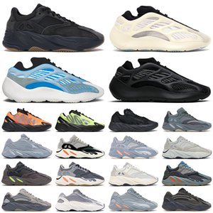 كاني adidas kanye west 700 v2 v3 جديد كاني الرجال النساء الاحذية موجة عداء azael alvah الكربون الأزرق فائدة الأسود الجمود المغناطيس 700 رجل مدرب الأزياء الرياضية رياضية