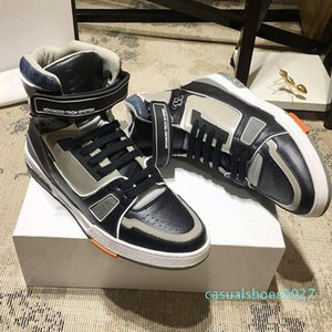 New Riefsaw sapatilha Bota Sapatos Masculinos Vintage Confortável Luxo Sapatos Lace -Up Shoes Chaussures De Marque De Luxe Pour c27