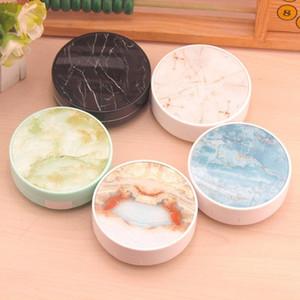 Marble Mirror Contact Lens Box Estuche Para Lentes De Contacto Travel Glasses Lenses Box Eyes Kit Holder Container Contact Lens Case