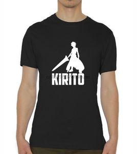 Sword Art Online Kirito Anime ve Manga Erkekler T Shirt