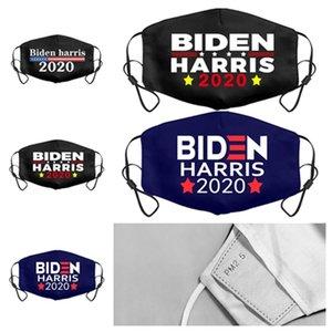 chaud adulte Biden Harris visage masque 2020 Président Amérique élection masques Biden Masques Drapeau américain Masques Washable Bouche Designer T2I51384