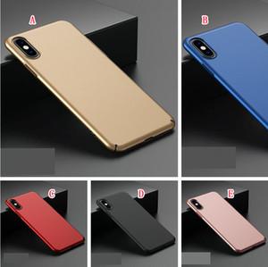 Slim Fit Ultra Fina Hard Case Matte Para Iphone 12 11 Pro Max X XS XR SE 2020 6 6S 7 8 PLUS 5S Finish óleo com grande aderência Anti-Risco Tampa