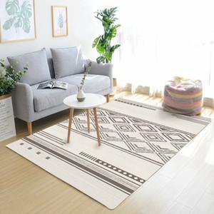 Nordic Geometric Carpets For Living Room Bedroom Modern Carpet Sofa Table Mat Vintage Morocco Rug Home Decor Persian Carpet