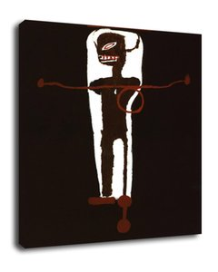 Art gri-gri Jean-michel basquiat Oil Painting Print On Canvas Modern Wall Art Modular Wall Pictures For Living Room Deco