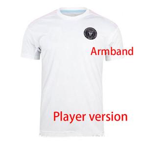 Версия игрока Интер Miami Socer Jersey 20 21 Beckham La Galaxy Chicharito Inter Miami CF футбольные трикотажные рубашки Pizarro