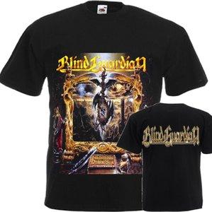 Yeni Tişörtlü Diğer DTG Baskılı Tee S 7XL itibaren Blind Guardian Imaginations