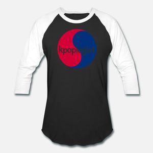 Kpoplogist Korean Pop Especialista Fandom Stan Flag Tee T Shirt Men Impressão 100% Algodão Tamanho S-3xl Costume solto cómico Verão Magro shirt