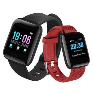116plus smart watch Bracelet Waterproof Fitness Tracker smartwatch Heart Rate Blood Pressure Monitor Pedometer Smart Band reloj inteligente