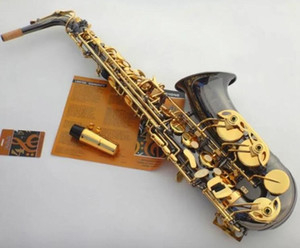 Series 54 Model Black Gold Alto Eb Tune Saxophone 54 Model E Flat Sax With Case Mouthpiece Professional Free Shipping