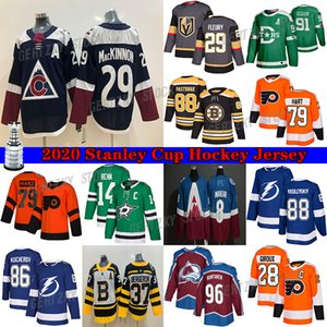 Vegas Golden Knights Jersey 29 Marc-André Fleury Avalanche du Colorado 29 Nathan MacKinnon Vancouver Canucks # 43 Quinn Hughes Hockey Maillots