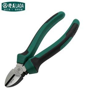 LAOA Diagonal Pince de haute qualité dureté en acier inoxydable Pinces qualité industrielle Pince coupante diagonale Y200321