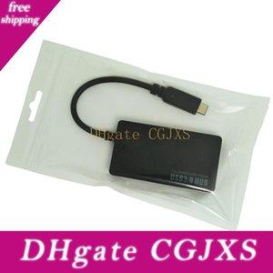 Usb 3 .1 Тип -C 4 портов USB3 +0,0 концентратор высокой мощности системы питания Multiple адаптер для Macbook и любого другого устройства с USB Type C порт