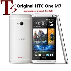 Desbloqueado HTC Original UMA M7 2GB RAM 32GB ROM Smartphone 4.7inch tela Android 5.0 Quad Core Touchscreen HTC M7