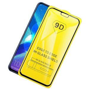 9d para Huawei Honor la cobertura completa de templado de vidrio de 20 Pro 10 20i 10i 9i 9n 9x9 protector de la pantalla