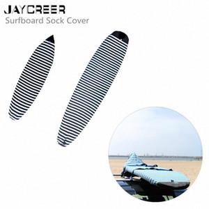 JayCreer Surfboard Sock Cover - Saco claro de protecção para sua prancha de surf [Escolha tamanho e cor] LXgw #
