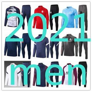 men survêtement pour homme 2020 2021 Real Madrid Maillots maillot ajax survetement france Paris Saint Germain psg Tottenham Liverpool FC Barcelona kit foot football Juventus