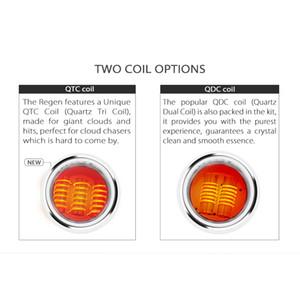 2020 Authentic Yocan Regen Armatura Lit Coil Cera QDC QTC Coil Quad Quatz bobine atomizzatore del carro armato per Regen Armatura Lit Pen Kit Dab