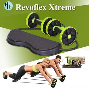 다기능 복부 휠 더블 휠 장력 장치 복근 로프 장력 자동 회복 Revoflex 롤러 롤러 익스트림 Y