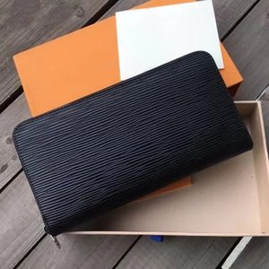 Fashion Designer Wallet Men Women Wallets Long Leather Top Quality Card Holder Classic Female Purse Brand Wallet