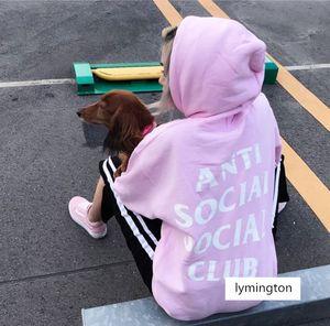 ASSC 후드 스웨터 남성의 여성의 스트리트 패션 브랜드 커플 까마귀 야구 유니폼 느슨한 편지 스웨터 코트 남성