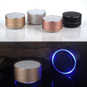 Vitog A10 sem fio portátil Bluetooth Speaker Mini LED Música Áudio TF FM estéreo USB coluna de som alto-falante para Xiaomi telefone Computador
