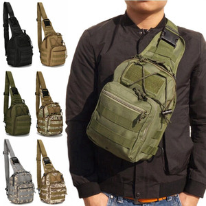 Military Tactical Bag with Molle Outdoor Sport Shoulder Bag Utility Travel Trekking Fishing Hiking Hunting Camping Camo Backpack