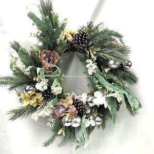 Zhonghui Corona Forniture decorativi all'ingrosso + fiori artificiali fiori decorativi Corona per la decorazione domestica